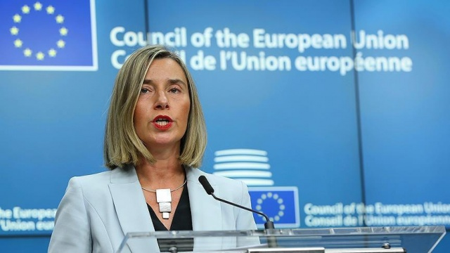 Mogherini: Tüm imkanlarımızla Ürdün'ü desteklemek istiyoruz