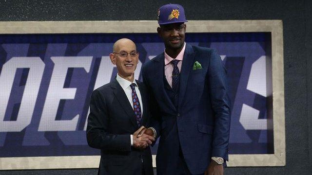 NBA draftının 1 numarası Ayton