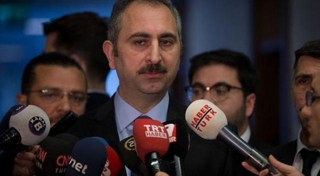 Adalet Bakanı Gül'den açıklama
