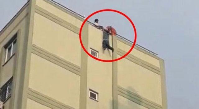 Adana'da korku dolu dakikalar! 8. kata çıktı ve...