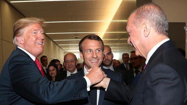 Başkan Erdoğan ve Trump'tan samimi poz