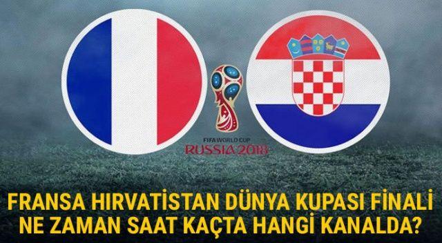 Dünya Kupası Finali Ne Zaman? Fransa Hırvatistan Maçı Ne Zaman? Finalin Detayları...