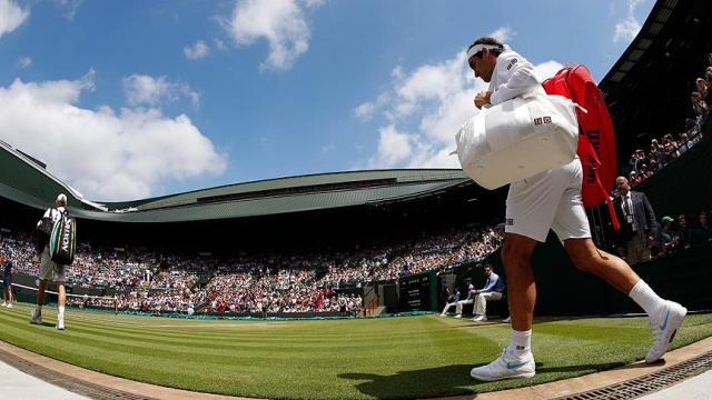 Federer Wimbledon'a çeyrek finalde veda etti