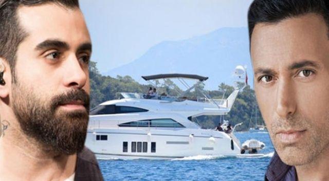 Gökhan Türkmen ve Mustafa Sandal tekne kazası geçirdi! İşte sağlık durumları...