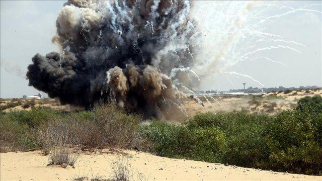 İsrail'den Gazze sınırına roket saldırısı