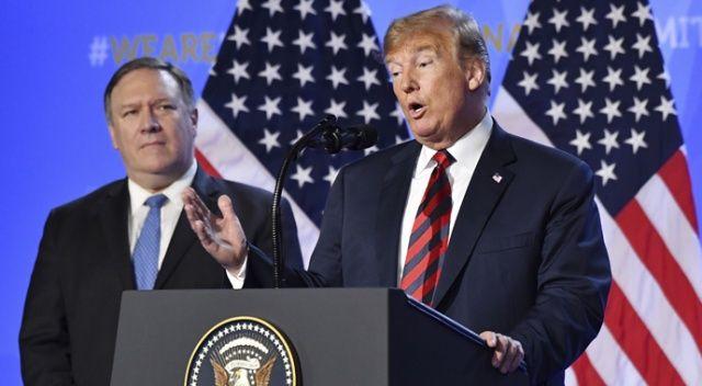 NATO zirvesinde kriz! Trump'tan sert açıklama...