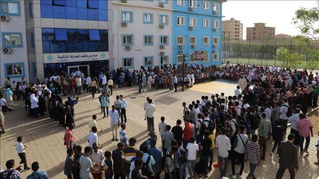 TMV okulları yenilenen yüzüyle Sudan'da eğitime başladı
