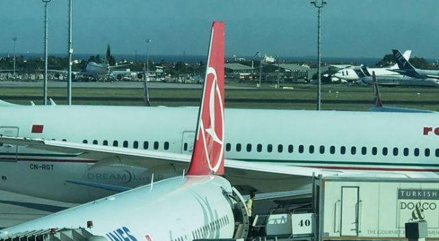 Atatürk Havalimanı'nda iki uçak çarpıştı!