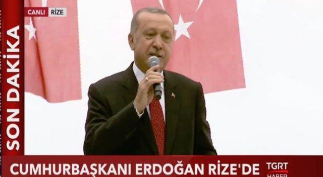 Erdoğan: Endişe etmeyin, güzel şeyler olacak!