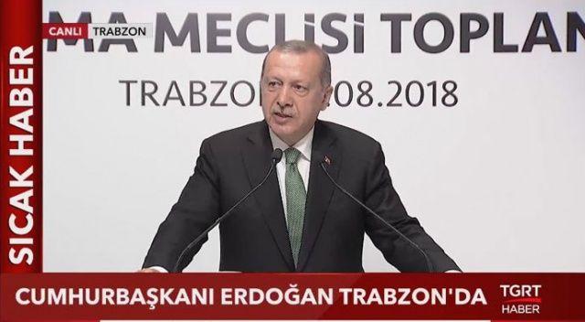 Başkan Erdoğan'dan ABD'ye sert sözler