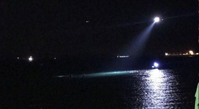 Beylikdüzü'nde balıkçı teknesi battı