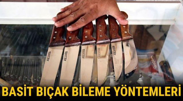 Bıçak nasıl bilenir? Evde kolay bıçak bileme yöntemleri nelerdir, bıçak nasıl bilenir?