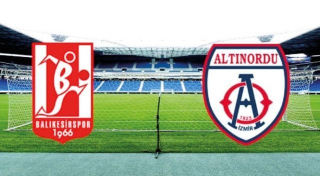 Özet izle: Balıkesirspor Baltok 0-0 Altınordu özeti izle | Balıkesir, Altınordu maçı kaç kaç bitti