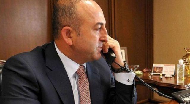 Mevlüt Çavuşoğlu, ABD'li mevkidaşıyla telefonla görüştü