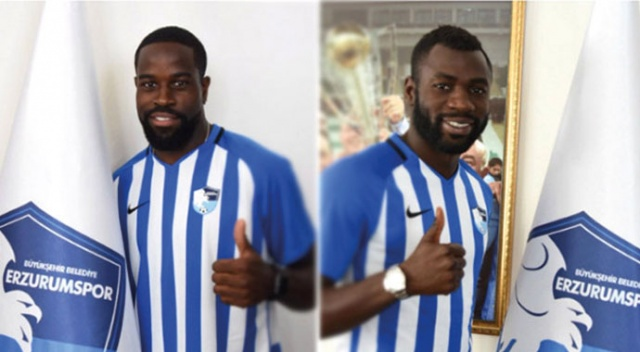 Moussa Kone ve Ridge Munsy, Erzurumspor'a transfer oldu