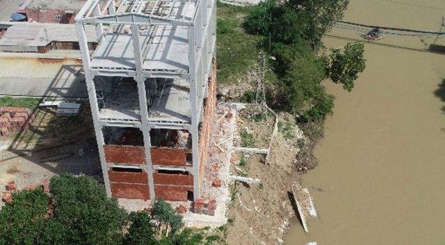 Ordu'da 18 ev boşaltıldı