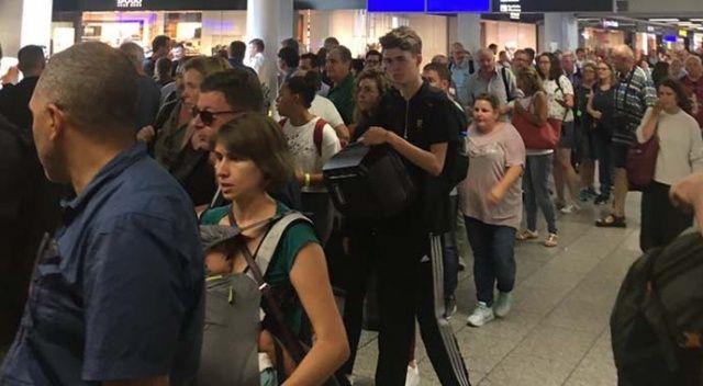 Son dakika... Almanya'da Frankfurt Havalimanı tahliye edildi