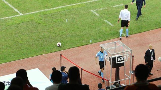 TFF Süper Kupa'da 'VAR' devreye girdi