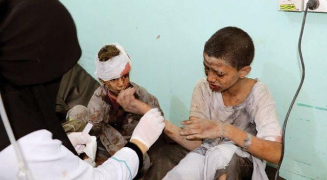Yemen'de hava saldırısı: Onlarca ölü
