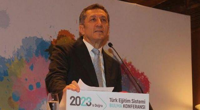 """Bakanı Ziya Selçuk: """"Eğitimde kıyameti koparmamız lazım"""""""