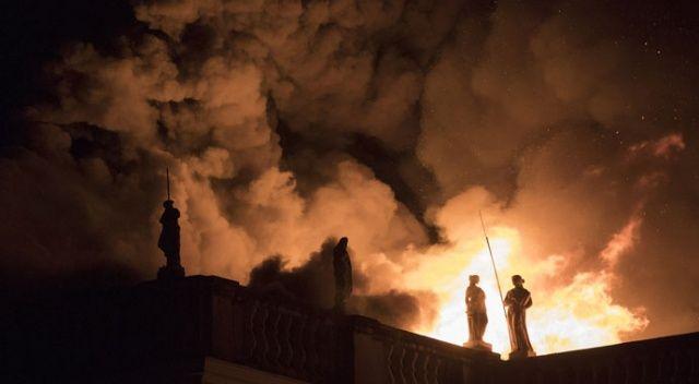 Brezilya'daki Ulusal Müze yangınının altından skandal çıktı!