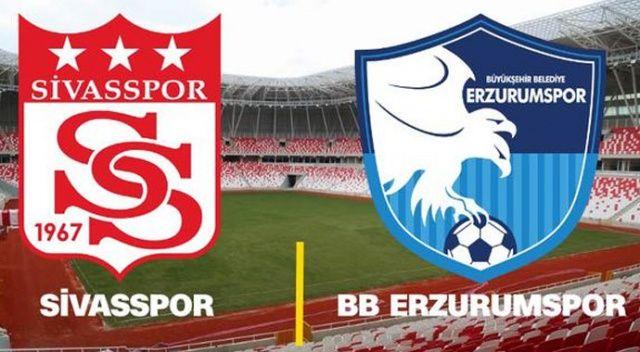 Özet İzle: Sivasspor 2-2 Erzurumspor özeti ve golleri izle | Sivas Erzurum maçı kaç kaç bitti