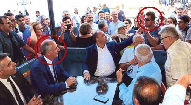 CHP'nin kalesi İzmir'de Muharrem İnce'ye protesto