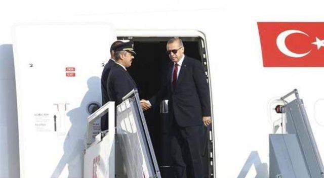 Cumhurbaşkanı Erdoğan kritik zirve için İran'a gitti