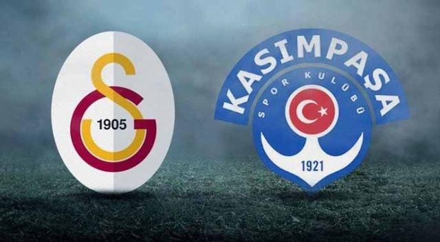 GS Kasımpaşa maçı saat kaçta | Galatasaray Kasımpaşa maçı ne zaman, hangi kanalda?