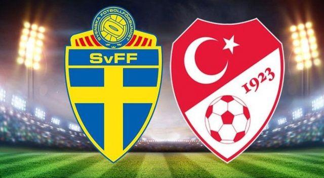 İsveç Türkiye maçı ne zaman, saat kaçta ve şifresiz hangi kanalda?