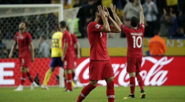 İsveç - Türkiye maçına damga vuran an!