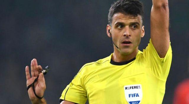 İsveç-Türkiye maçının hakemi belli oldu