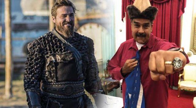 Maduro'dan flaş 'Diriliş Ertuğrul' hamlesi!