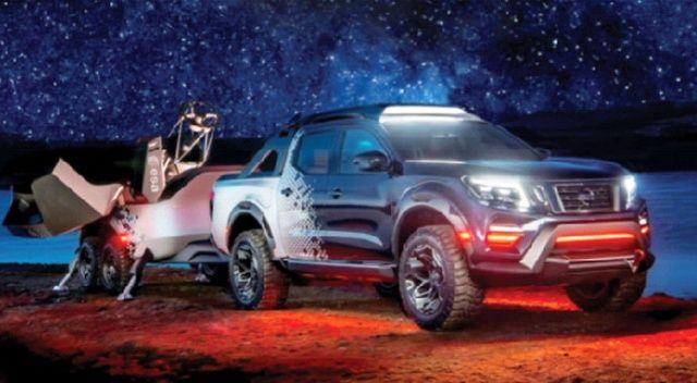 Nissan Navara  Dark Sky Concept tanıtıldı