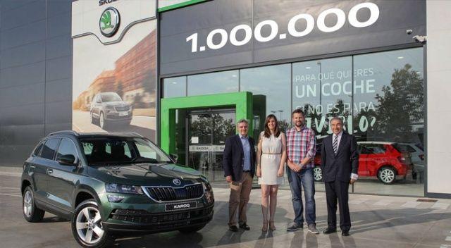Skoda 1 milyonuncu SUV aracını üretti