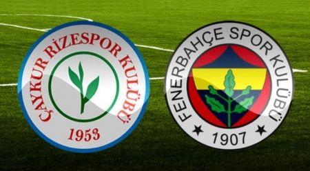 Özet İzle: Çaykur Rizespor 3-0 Fenerbahçe özeti ve golleri
