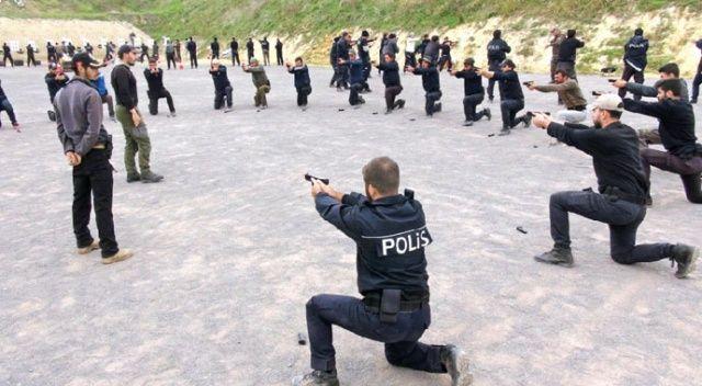 16 bin polis ve bekçiye 'komando gibi' eğitim
