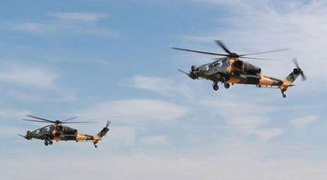 3 atak helikopteri daha TSK'ya teslim edildi