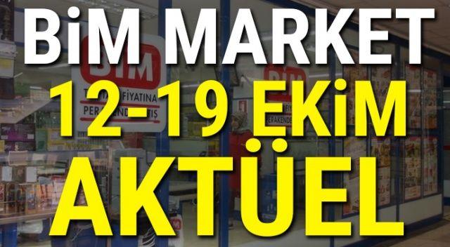 BİM aktüel ürünler bu hafta listesi 12- 19 Ekim BİM market indirimli ürünler katalog