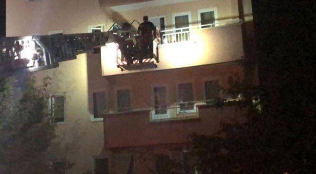 Bursa'da hareketli anlar! 6 katlı bina boşaltıldı