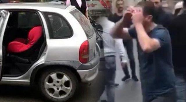 Çocuğunu arabada unutan baba hayatının şokunu yaşadı!