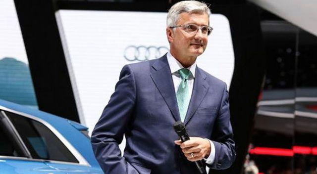 Dizel krizi Audi CEO'sunun sonunu getirdi