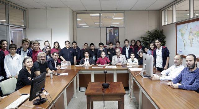 İhlas Koleji öğrencileri, 'Medya Konferansı'na katıldı