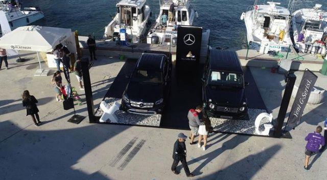 Mercedes-Benz G-Serisi ve X-Class 'Alaçatı Uluslararası Fishing Turnuvası'na renk kattı