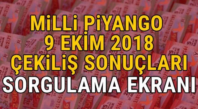 Milli Piyango 9 Ekim Çekiliş Sonuçları | 9 Ekim Milli Piyango Sonuçları bilet sorgula