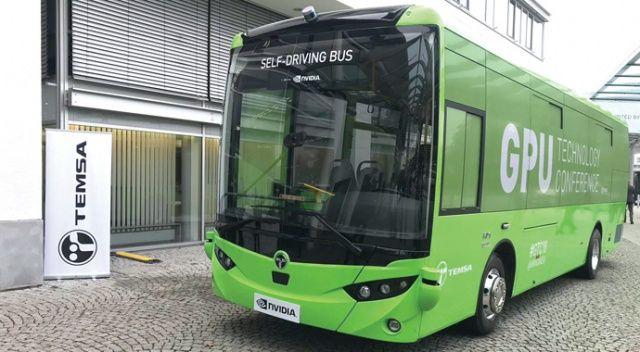 TEMSA'nın sürücüsüz otobüsü 2020'de yollarda