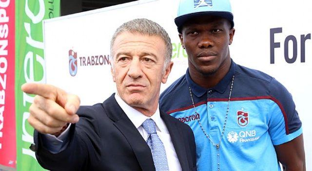 Trabzonspor takımı sahada, yönetim masada konuştu: Biz de varız