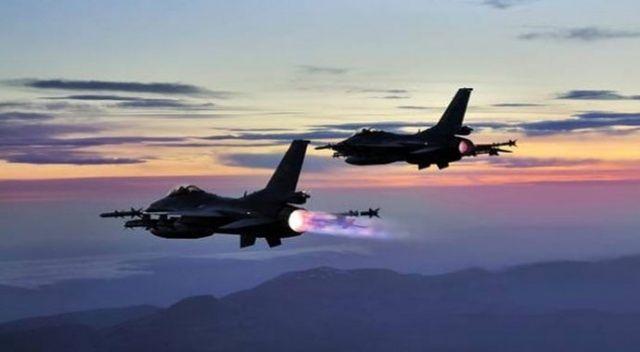 TSK'dan hava harekatı: 6 terörist etkisiz hale getirildi