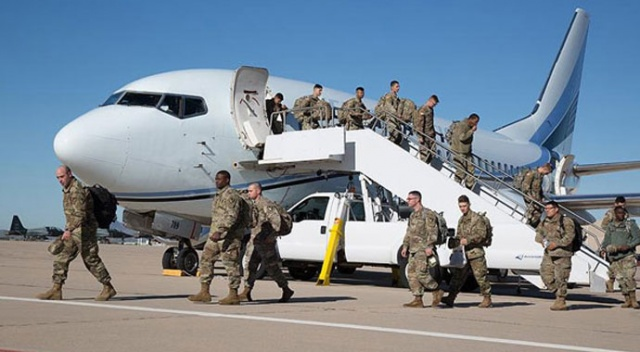ABD dünyaya duyurdu! 5 bin 200 asker bölgeye intikal etti ve silahlı olacaklar