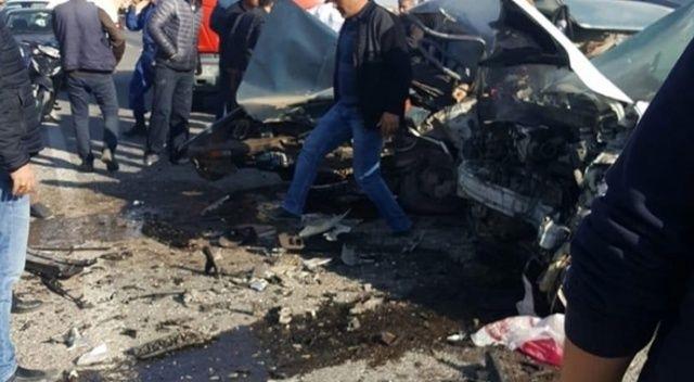 Afyonkarahisar'da trafik kazası: 2 ölü, 3 yaralı